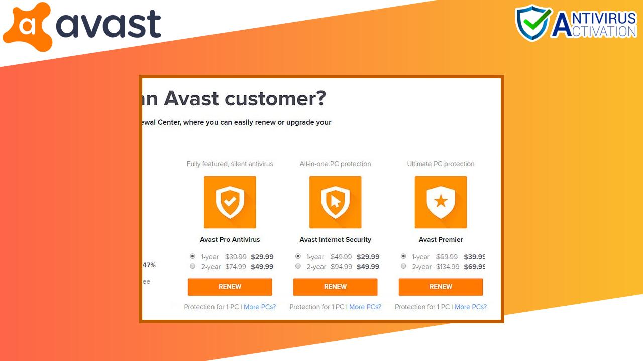Avasst Antivirus Renewal Step-2
