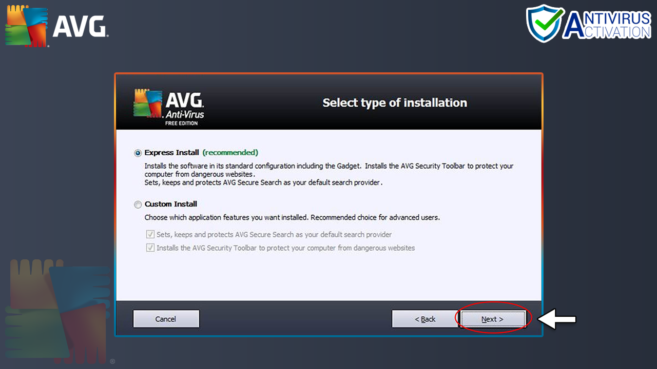 AVG Installation Step-5