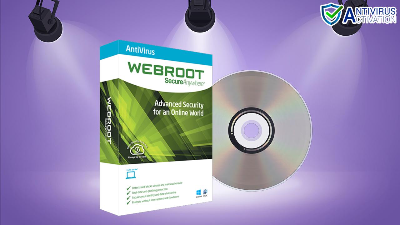 Webroot Antivirus Product
