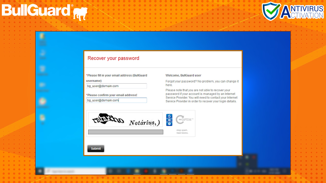 Error-2.2-BullGuard-Account-Password-Recovery